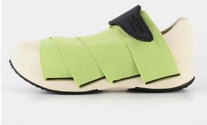 Fessura Nuevos Zapatos para mujer Momia Luz Color ácido (Precio especial)