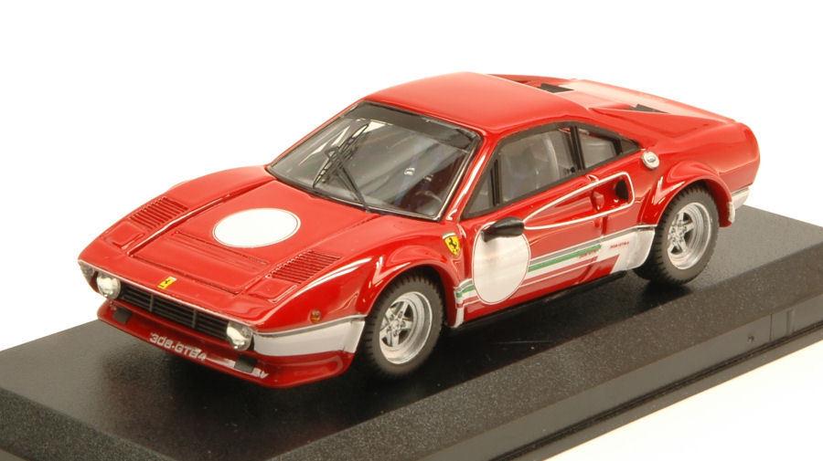 Ferrari 308 gtb4 lm test fiorano 1976 niki lauda 1 43 modell Besteen modelle