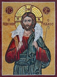 Mosaic Icon Parable Of The Lost Sheep Mosaic Religious
