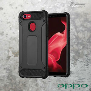 new products dfbea 0d096 Black Tough Armor Heavy Duty ShockProof Case Cover For OPPO A73 ...