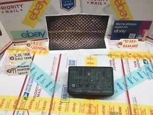 99 mitsubishi montero fuse box 98 99 00 01 02 mitsubishi montero sport 3 0l fuse box cover oe ebay  98 99 00 01 02 mitsubishi montero sport