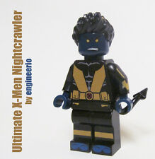 LEGO Custom -- Nightcrawler -- Ultimate X-Men Marvel Super heroes mini figure