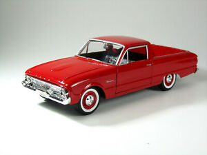 Modelo-auto-1-24-Ford-Ranchero-1960-rojo-Motormax-79321