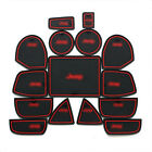 NEW Interior Door Mat Cup Pads Holder 15PCS For Jeep Grand Cherokee 2011-2016