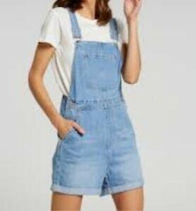 EUC Original GUESS Jeans USA women's vintage medium washed denim romper sz L