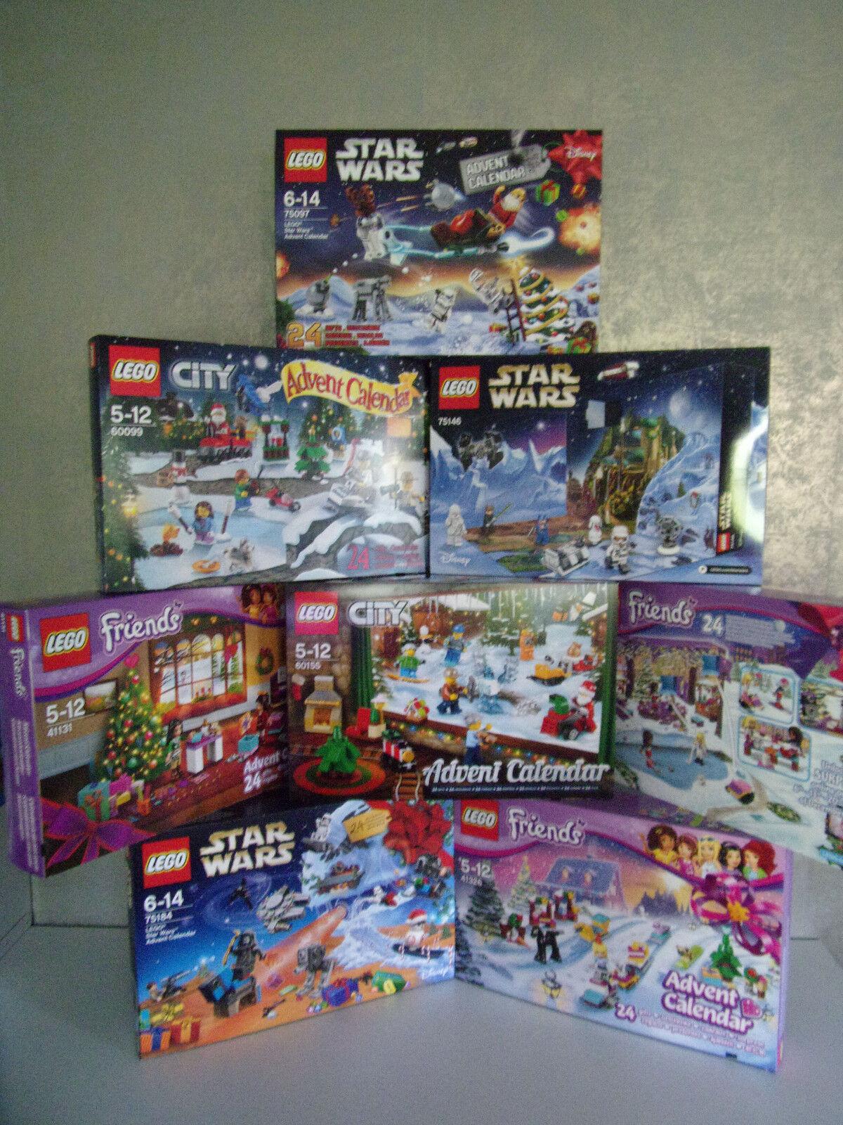 Lego Adventskalender (Star Wars, City, Friends,....) - zum aussuchen - Neu & OVP  | Abgabepreis