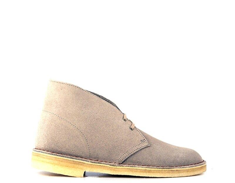 zapatos CLARKS hombres Clark  BEIGE  DESERT bota U SA
