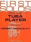 First Solos for the Tuba Player by Schirmer G Books (Paperback / softback, 1986)