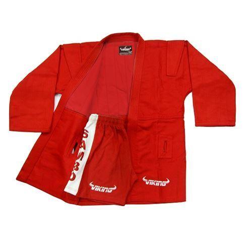 Viking Sambo Uniform Red