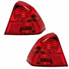 Fit For 2003 2004 2005 Honda Civic Tail Light Right Left Sedan 33501 S5d A51 Fits 2004 Honda Civic