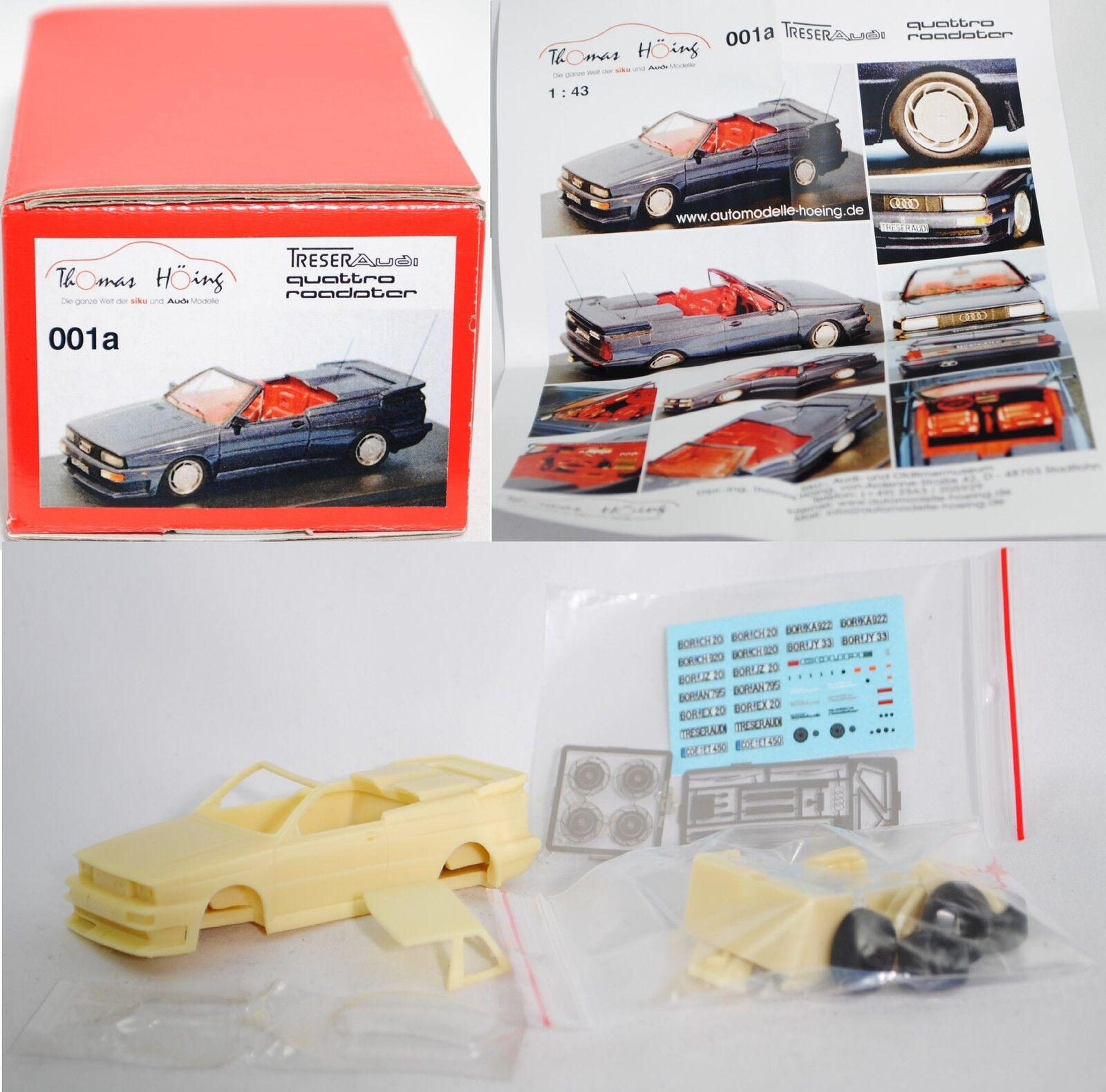 001a Treser Audi quattro roadster Bausatz, Bausatz, Bausatz, 1 43, limitiert (Limited Edition) b2b4ce