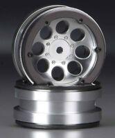Axial Scx10 Honcho G6 Kit Scx10 Ii 2 1.9 8 Hole Beadlocks Satin Chrome 2 Ax8088