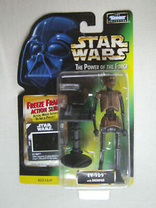 Star Wars POTF2/EV-9D9 Action Figure/Kenner 1997/GREEN Freeze Frame Card NEW - Pforzheim, Deutschland - Star Wars POTF2/EV-9D9 Action Figure/Kenner 1997/GREEN Freeze Frame Card NEW - Pforzheim, Deutschland