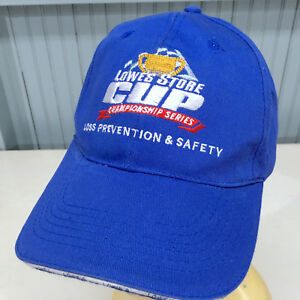 Details about Lowes Store Cup Loss Prevention Strapback Baseball Cap Hat