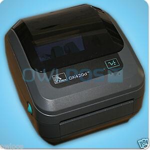 Details about Zebra GK 420d Ethernet & USB Thermal Shipping Label Barcode  Printer UPS GK420d