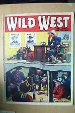 1939 Comic Wild West Weekly: DON'T MISS SONNY TO THE RESCUE!,Vol.2,No.1,1st July