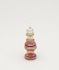 Flacone Fiaschetta A Profumo Olio IN Vetro Souffle D Egitto Peterandclo D8 1409