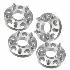 4pcs 20mm Hubcentric Wheel Spacers 5x100 | 12x1.25 Subaru Impreza WRX 2.5 RS