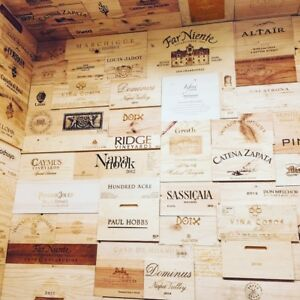 10-Assorted-amp-Branded-Wine-Crate-Panels-Wine-Box-Sides-Ends-Tops-Wood