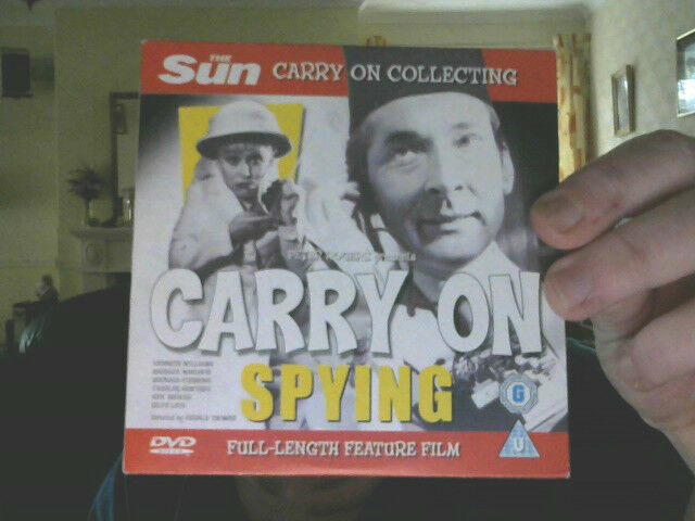 CARRY ON SPYING  DVD COMEDY PERFECT BIRTHDAY GIFT! FREE  UK POST