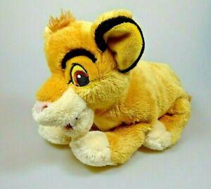 Der-Koenig-der-Loewen-The-Lion-King-Simba-ca-26-cm-lang-Disney-Pluesch-Figur