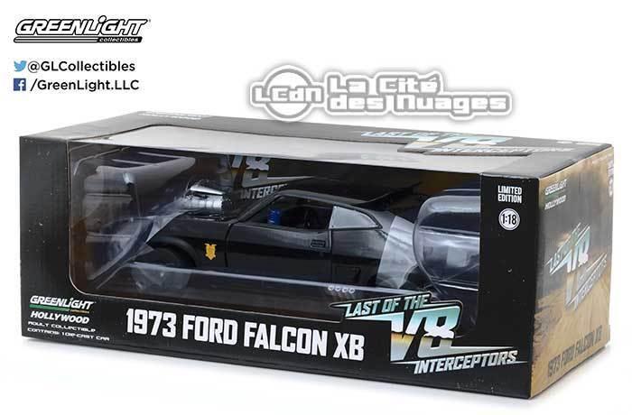 1973 Ford Falcon XB Last of the V8 Interceptors Mad Max 12996 118 verdelight