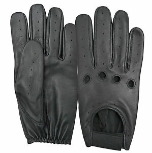 Real-Leather-Soft-Driving-Gloves-Classic-Retro-Fashion-Dressing-Top-Quality