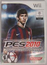 Pro Evolution Soccer 2010 (Nintendo Wii, 2009)