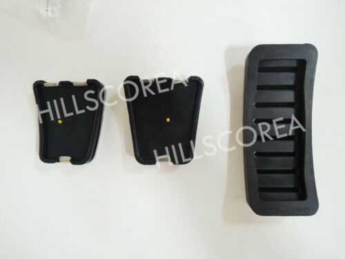 HYUNDAI GETZ CLICK 2002-2011 Genuine OEM Manual Pedal 3pcs 1set