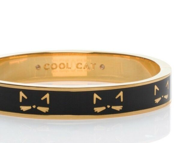 455c67d1d Kate Spade Cool Cat Hinged Bracelet NWT Delicate Cat Ears & Whiskers So  Perfect!