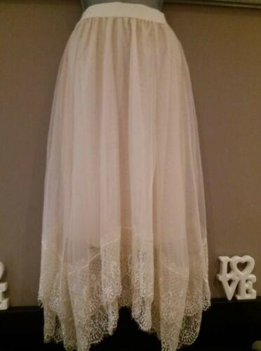 elastische lagen met Dames Vintage kanten taille rok Nieuw 2 xvwYPwH