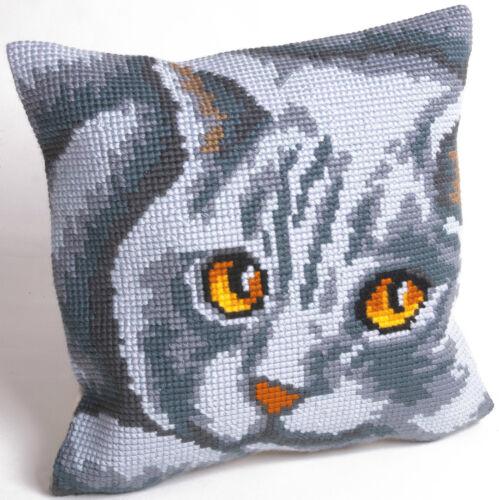Collection d /'Art-cross stitch Amortiguador Delantero Kit-Persian-Cat-CD5083
