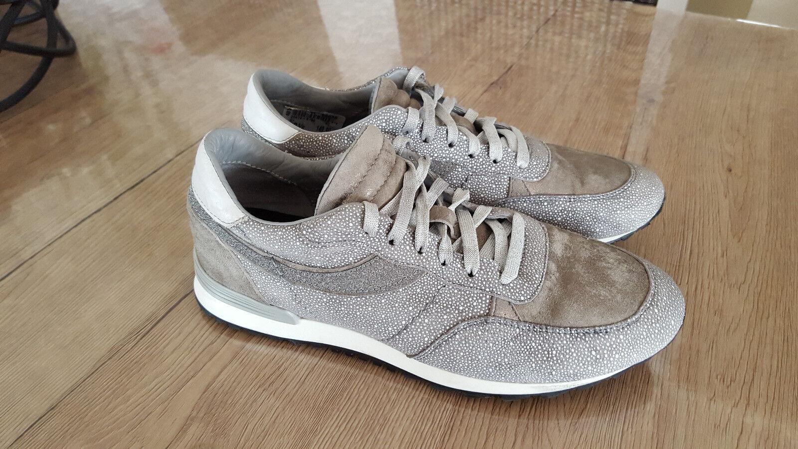 Gommus Damenschuhe Schuhe Sneaker 38,5  Gr. 38,5 Sneaker Grau/Taupe TOP d4c26c
