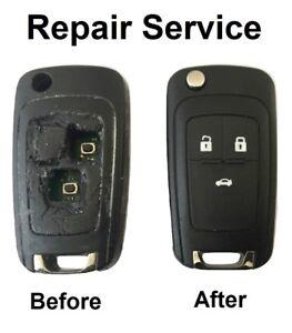 for 2 Micro Switches Vauxhall Zafira Signam Corsa Astra Opel Fob Key Repair