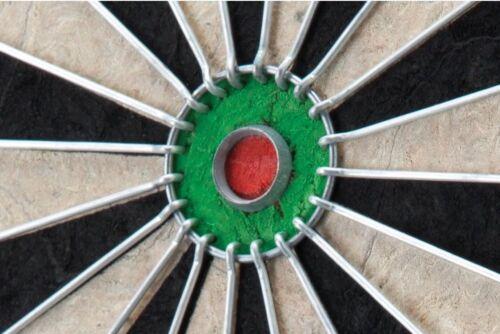 "Bristle Steel Tip Dartboard DARTS Official Tourney Size 18"" LEAGUE Sisal"