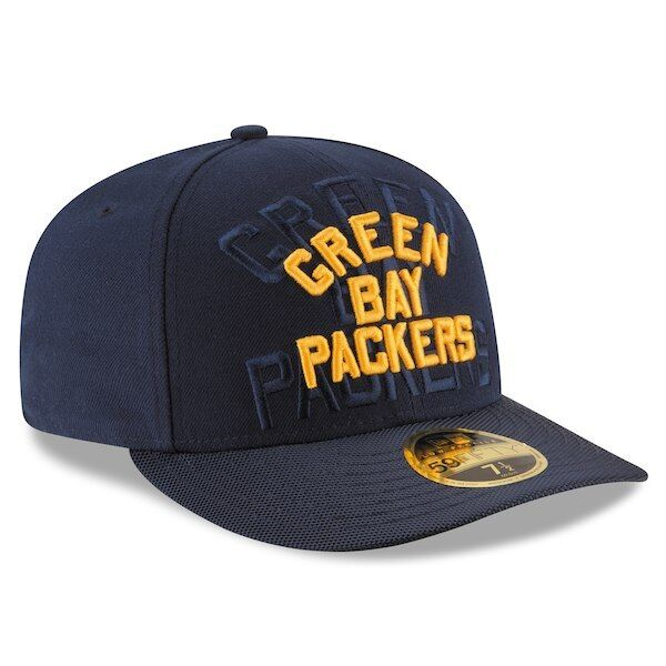 finest selection 37ae6 adc20 Era NFL Green Bay Packers Cap Classic 59fifty Blue Hat Size 7 for sale  online   eBay