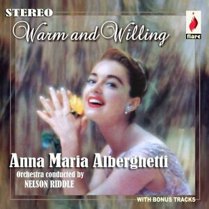Anna Maria Alberghetti - Warm & Willing [New CD]
