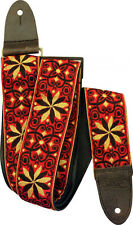 Levy's Guitar Strap JIMI HENDRIX BAND OF GYPSYS Red Yellow VINTAGE Woven Levys
