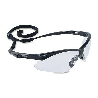 JACKSON NEMESIS 3000354 Safety Glasses Clear Lens with Neck Cord KC 25676