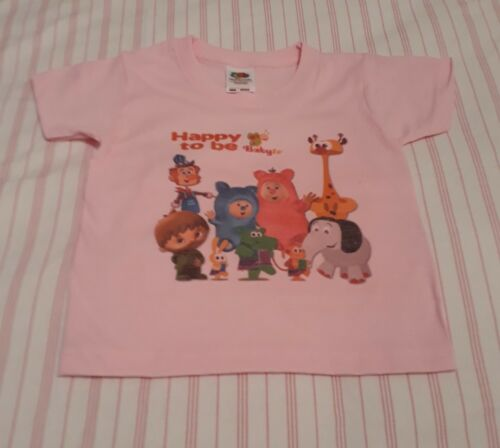 Babytv t-shirt RED Oliver 1-2 years
