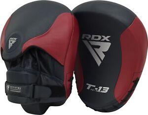 RDX-Boxing-Pads-Training-Focus-Mitts-MMA-Hook-amp-Jab-Target-Muay-Thai-Kickboxing