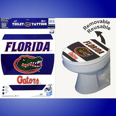 University Of Florida Gators Toilet Seat Tattoo