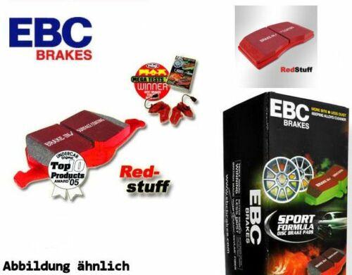 EBC Redstuff Plaquettes De Frein Essieu Avant dp31574c