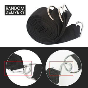 2 Pcs 3m Nylon Outdoor Tree Swing Straps Hammock Hanging Kit With Steel Buckle Camping Swing Nylon Straps Outdoor Tools Soft And Light Sports & Entertainment Outdoor Tools