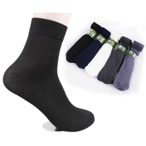 10Pairs Men Short Bamboo Fiber Socks Stockings Middle Socks For Winter//Autumn Bu