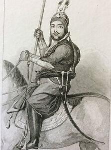 Afghanistan-Dynasty-Barakzai-Mohammadzai-Vizir-Akbar-Khan-Dost-Mohammad-Khan