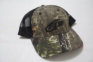 FLW Camo Black Back Mesh Hat EXCELLENT