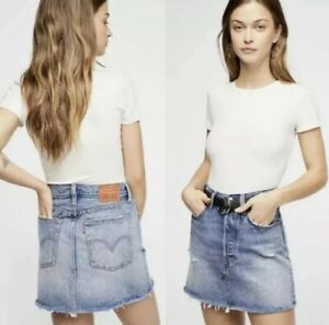 Mini Free Women's Deconstructed People 28 Nwt Skirt 98 Levi's Size wwxnPHZ