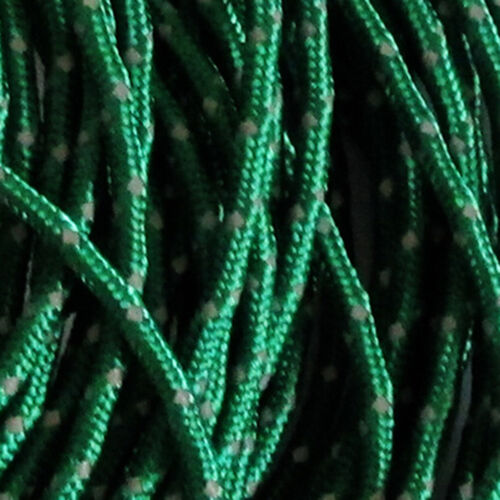 2.5MM 50foot Reflective Guyline Camping Tarp Tent Rope Line Cord TPD WN
