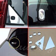 Chrome Rear Window Trim FOR Toyota Prado J150 2014-2016 Cover Accessories